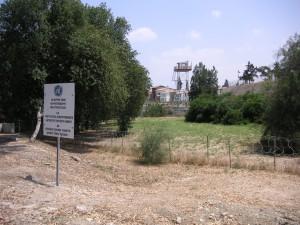 Grenze in Nicosia